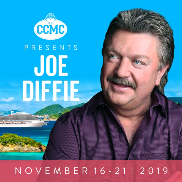 Carolina Country Music Cruise is proud to present Joe Diffie!