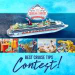 BEST CRUISE TIPS CONTEST!