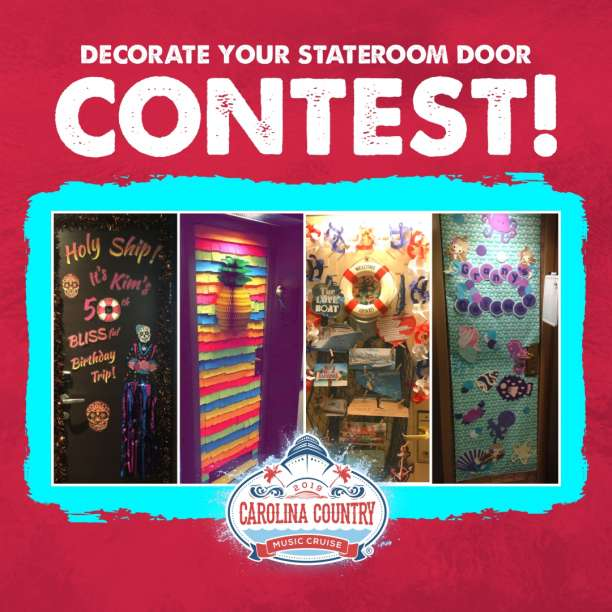 DECORATING YOUR STATEROOM DOOR CONTEST!